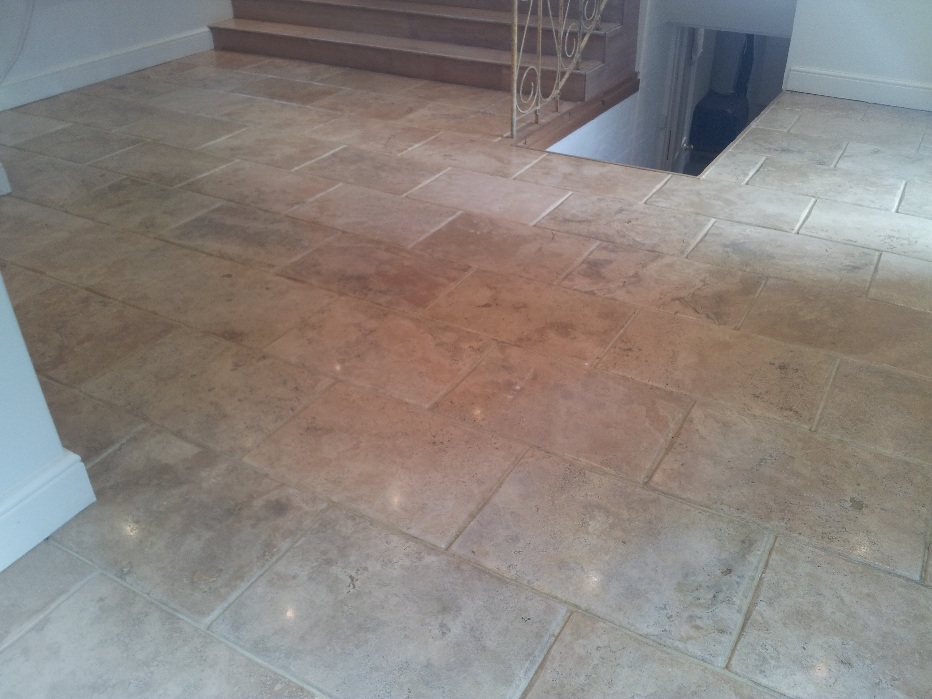 Travertine Floor Cleaning Oxfordshire