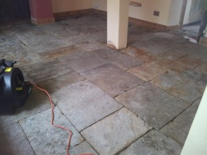flagstone floor cleaning banbury