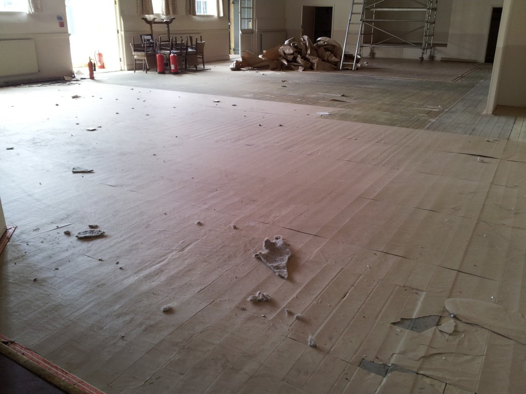Wood floor restoration oxford from for Wood floor refurbishment