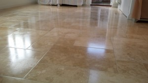 travertine floor polishing banbury