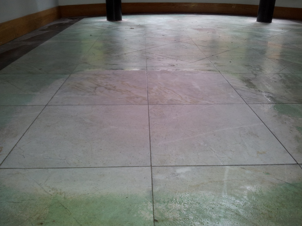 how to clean natural stone floors