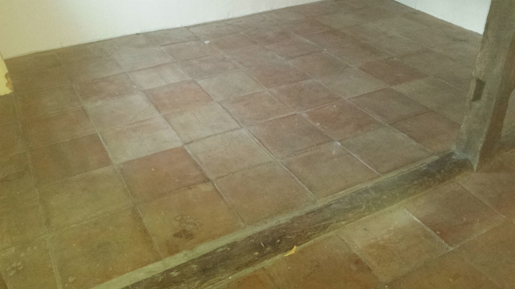 Terracotta floor clean and seal