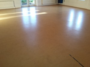 marmoleum floor restoration oxford