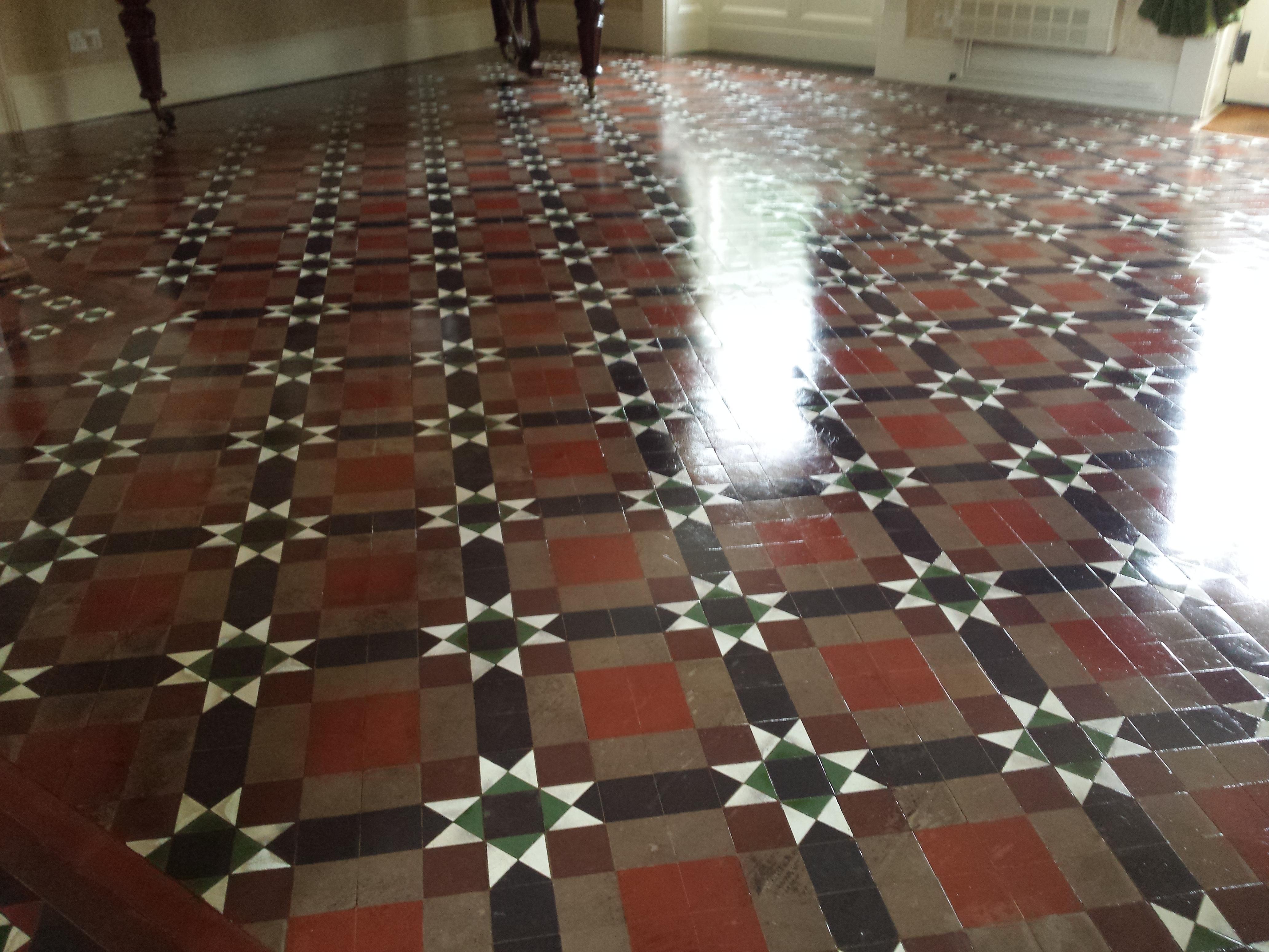 Terracotta quarry tile and victorian tiles floor restore oxford ltd victorian tile floor cleaning oxford from floorrestoreoxford victorian tile cleaning oxford from floorrestoreoxford dailygadgetfo Image collections