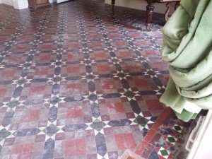 victorian tile floor cleaning oxford from floorrestoreoxford.co.uk
