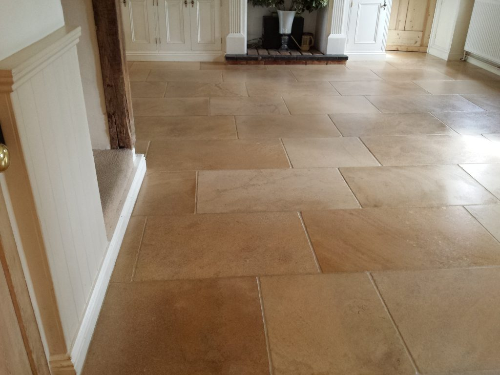 Limestone Cleaning And Sealing Oxfordshire