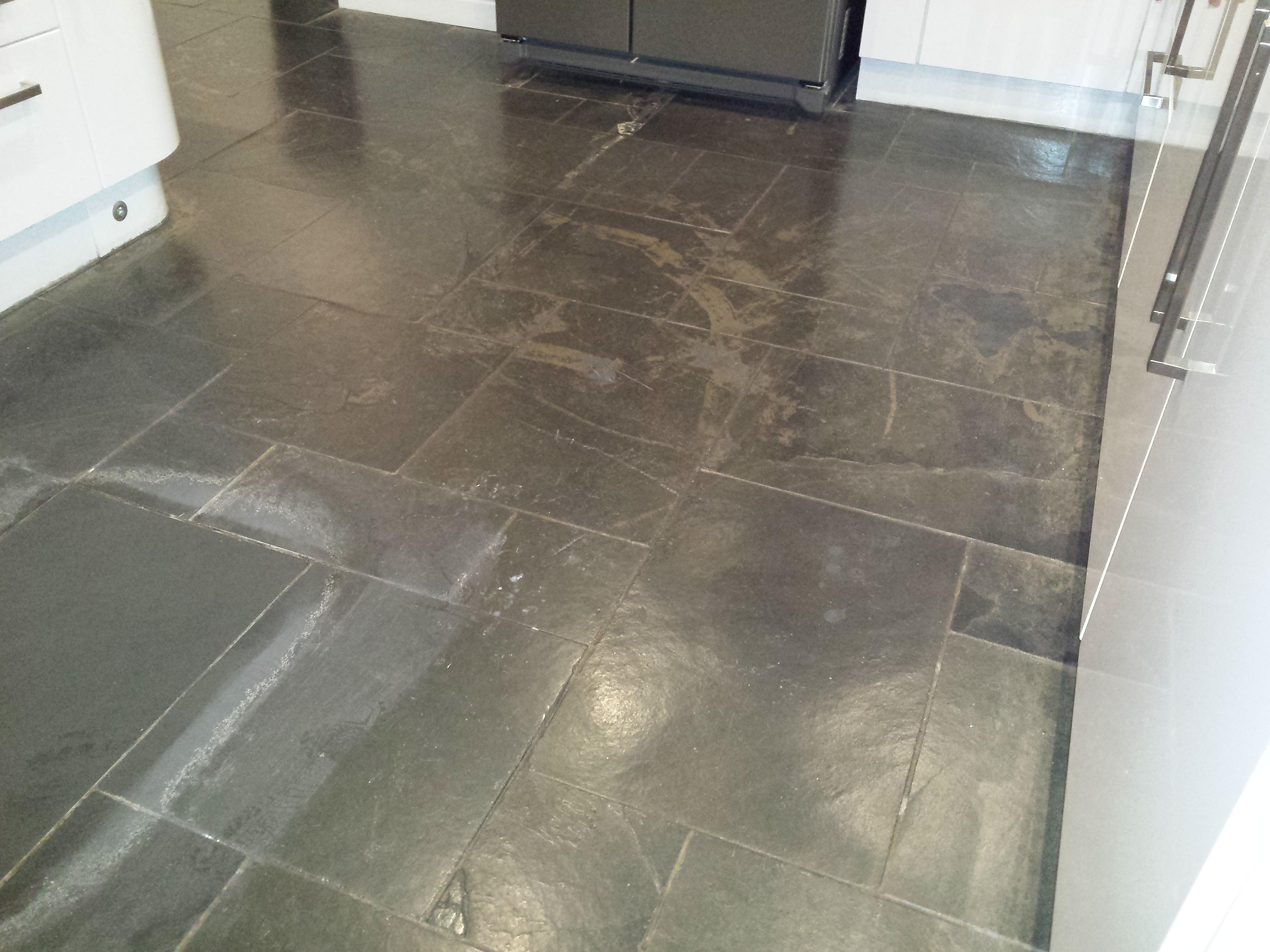 Slate Floor Clean And Seal Bicester Floor Restore Oxford Ltd