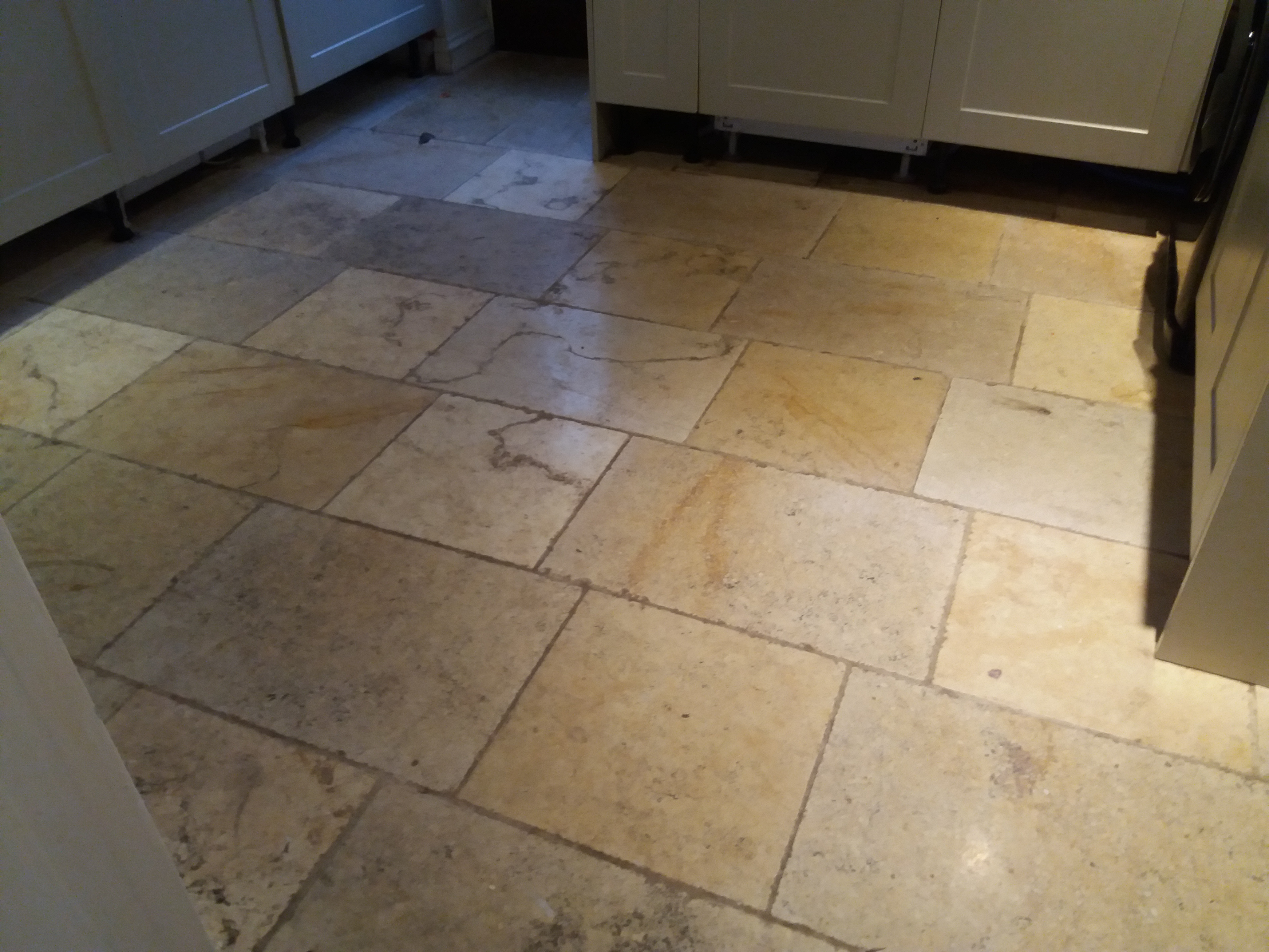 Stone floor cleaning in the cotswolds floor restore oxford ltd the natural colours and markings within the stone were really brought out and after applying the seal the colours were enhanced and the floors looked dailygadgetfo Gallery