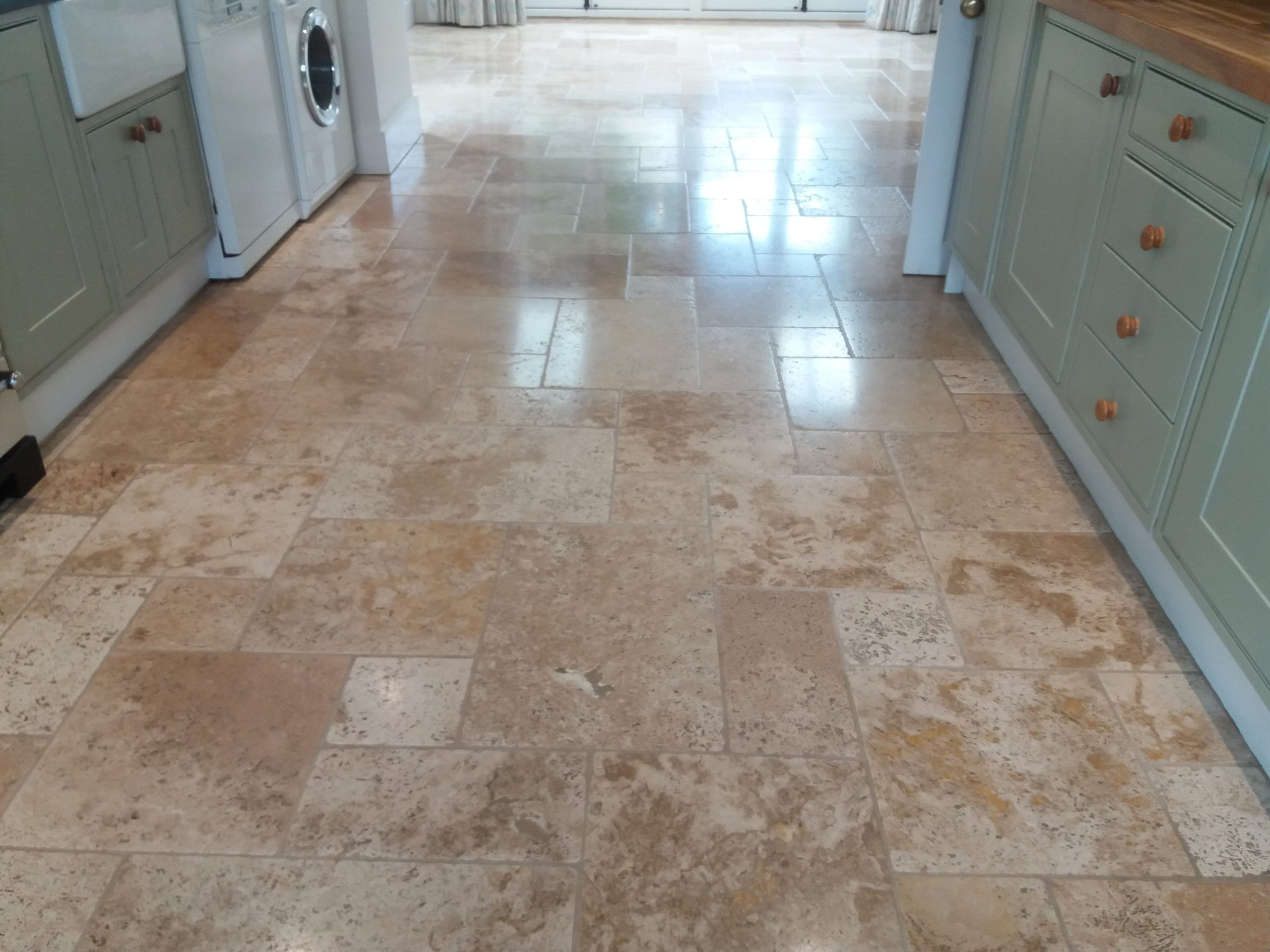 travertine floor cleaning and sealing witney