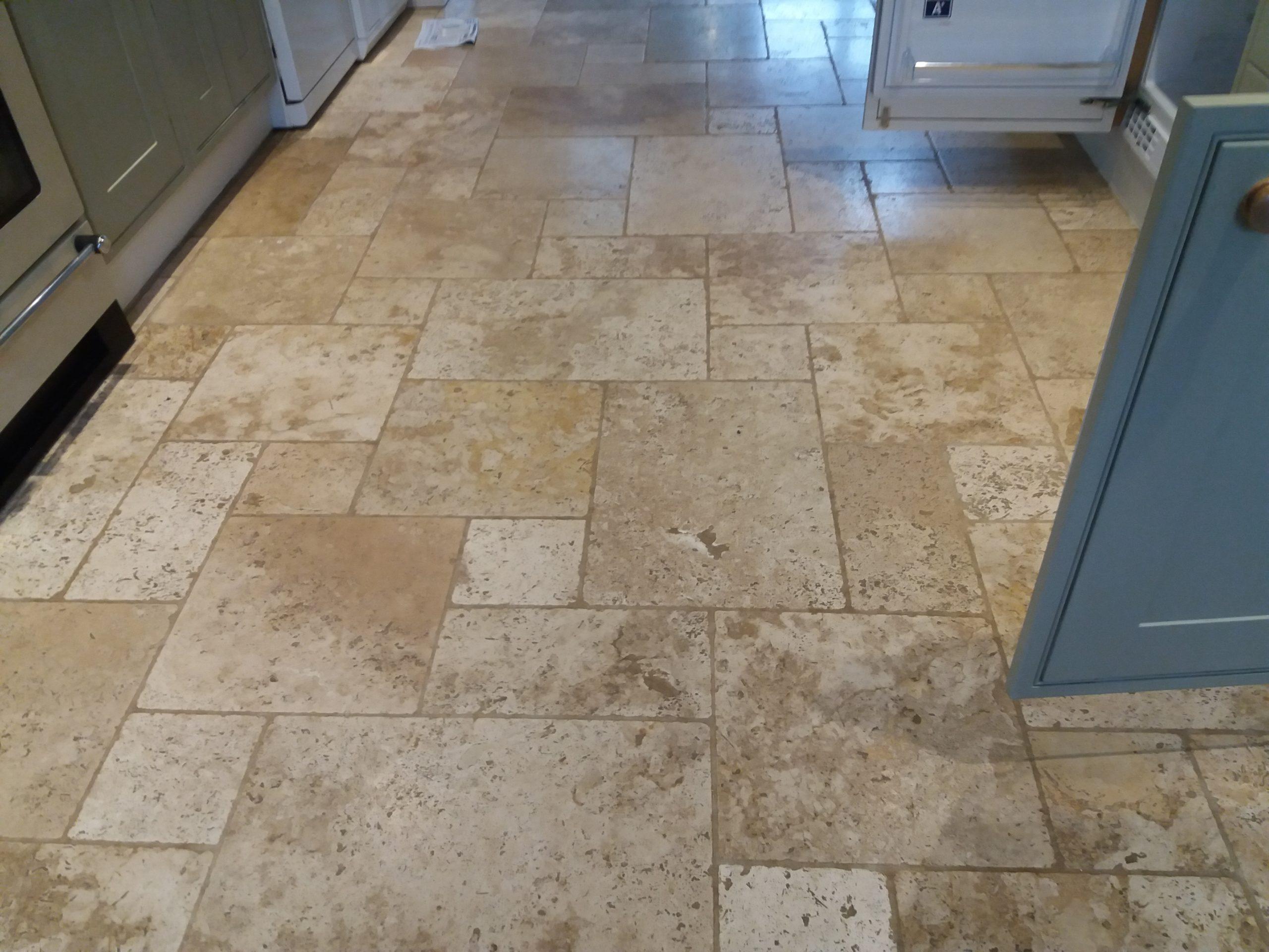 travertine floor cleaning witney